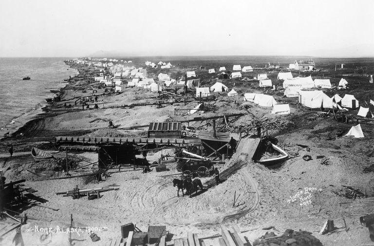 Nome Beach 1900