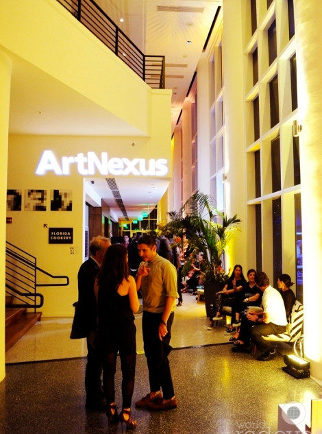 Royal Palm. Art Basel ArtNexus Party