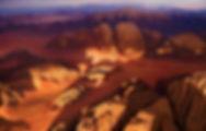 Wadi Rum viewfrom the balloon