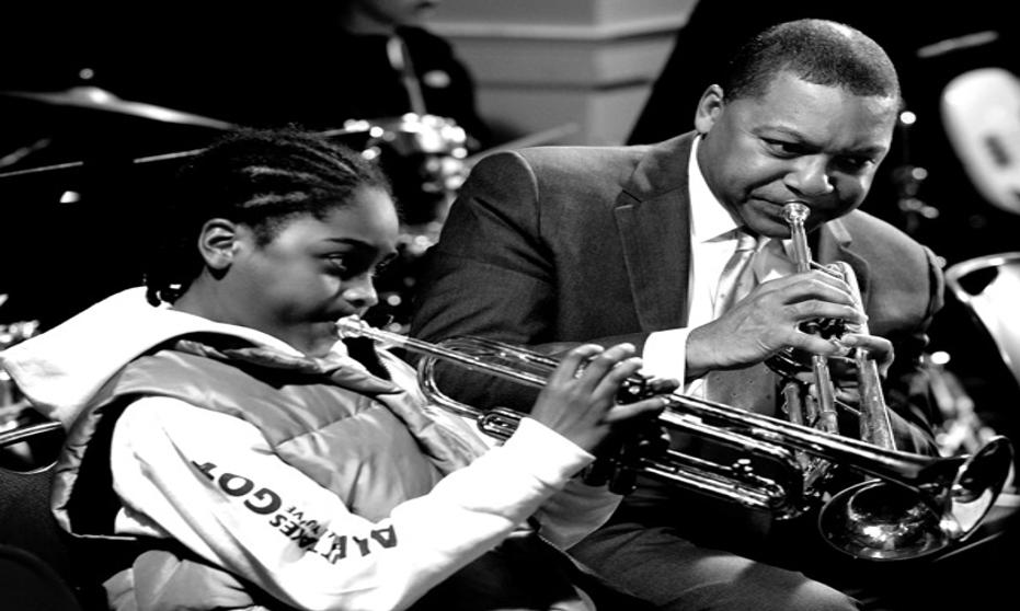 Winton Marsalis and Olu on Trumpet