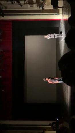 Olu duet tap performance