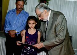 Michell Patwa at Parsi Function