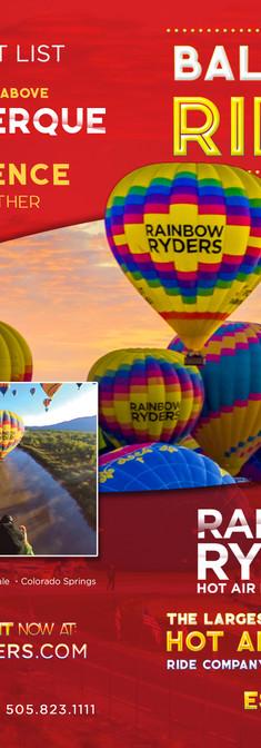 Rainbow Ryders Print
