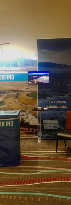 National Roofing Company Display