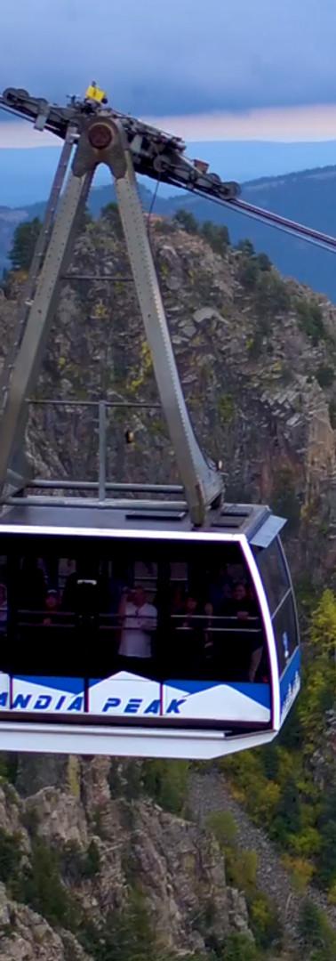 Sandia Tram via Drone