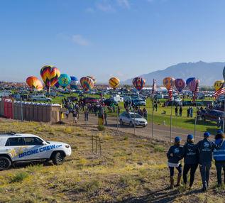 Colibri Team at Balloon Fiesta