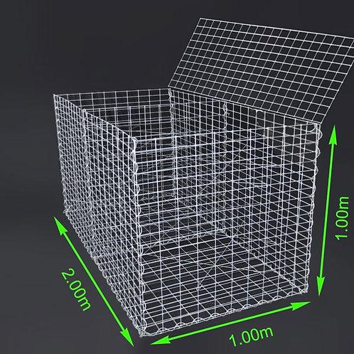 GABION 2m x 1m x 1 (L x B x H)