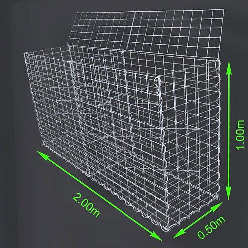 GABION 2m x 0,5m x 1m (L x B X H)