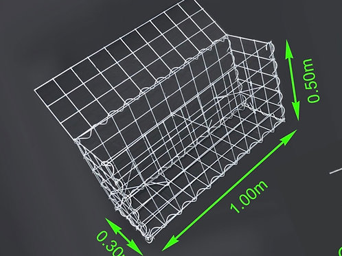 GABION 1m x 0,5m x 0,3m (L x B X H)