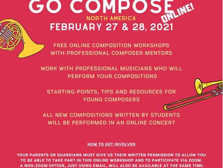 Go Compose, Keep Composing, Be You