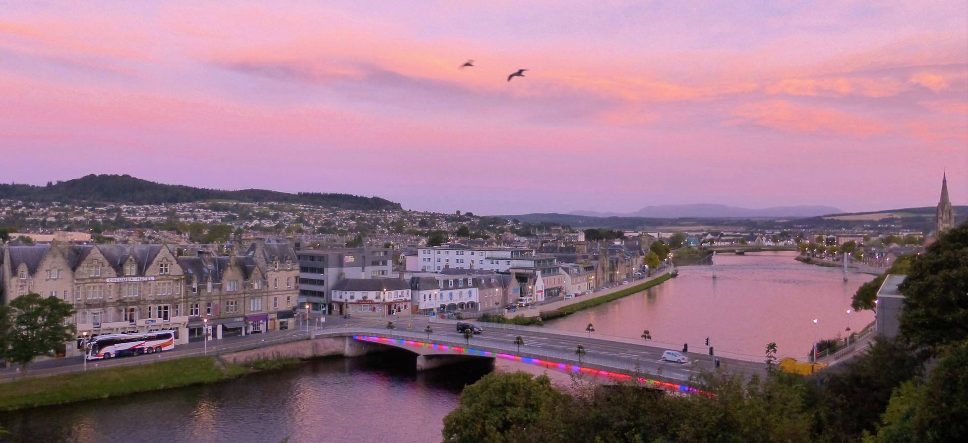 Inverness sunrise