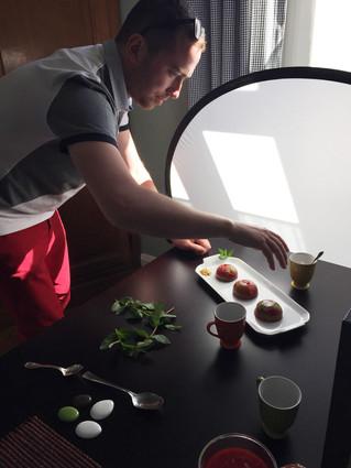 J'ai rencontré Maxime H, photographe culinaire