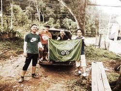 Bike Borneo team