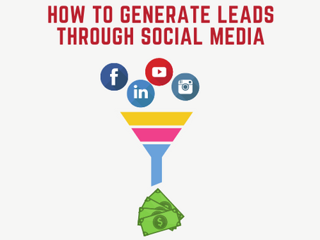 How to generate leads through social media