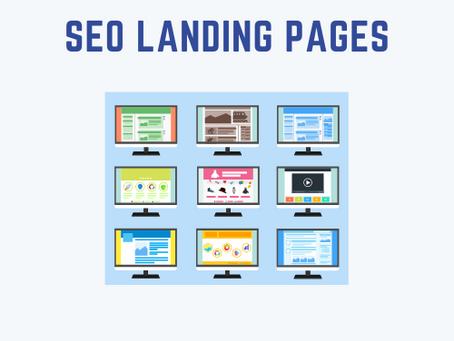 Landing page SEO to convert organic customers