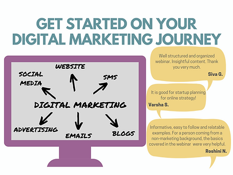 Get started on your digital marketing jo