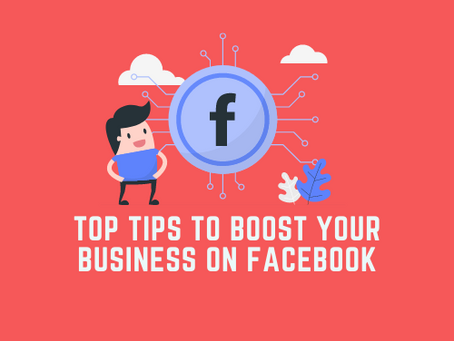 Top tips to boost your business on Facebook