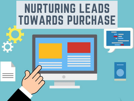 Nurturing leads towards purchase