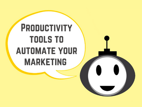 Productivity tools to automate your marketing - Zapier and IFTTT