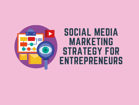 Social media marketing strategy for entrepreneurs