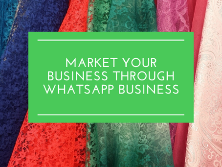 Market your business through WhatsApp Business