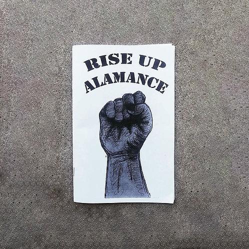 Rise Up Alamance Zine