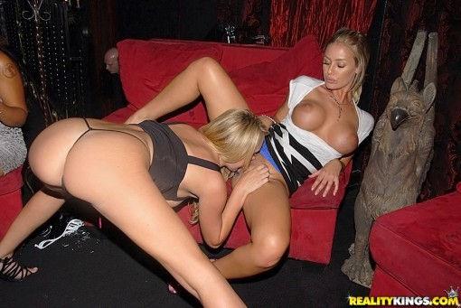 Lesbian nightclub porn