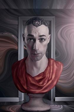 Autoportrait 1 pour Le passage, © Cédric Tanguy