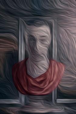 Autoportrait 2 pour Le passage, © Cédric Tanguy