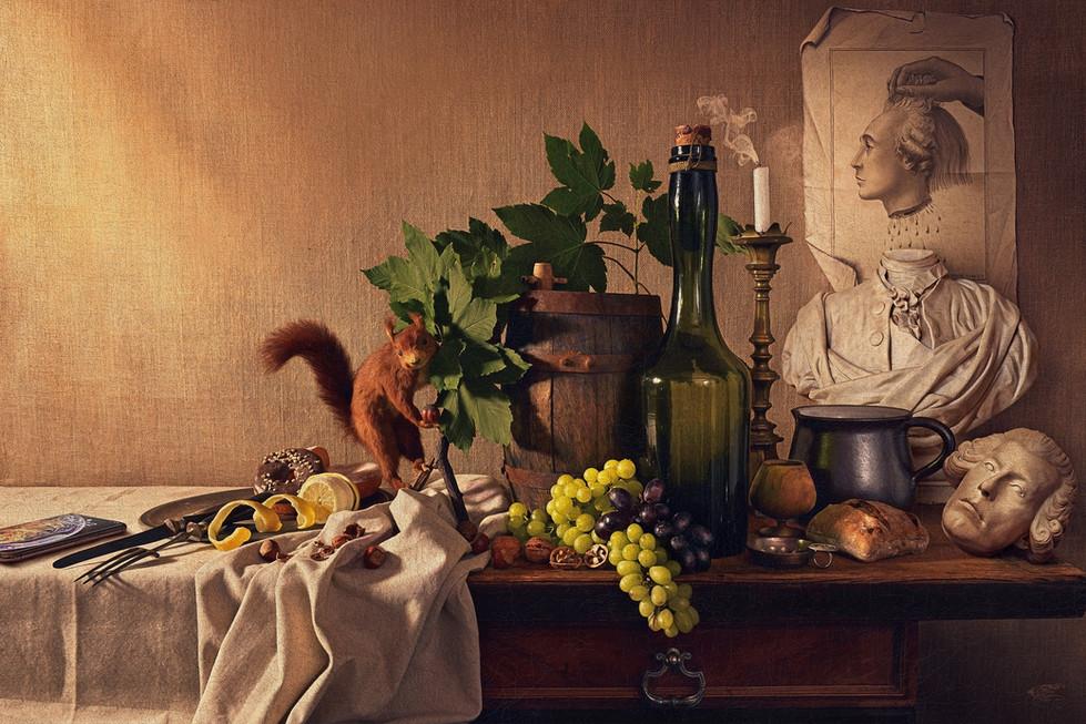 Autoportrait en Louis XVI, 2020.