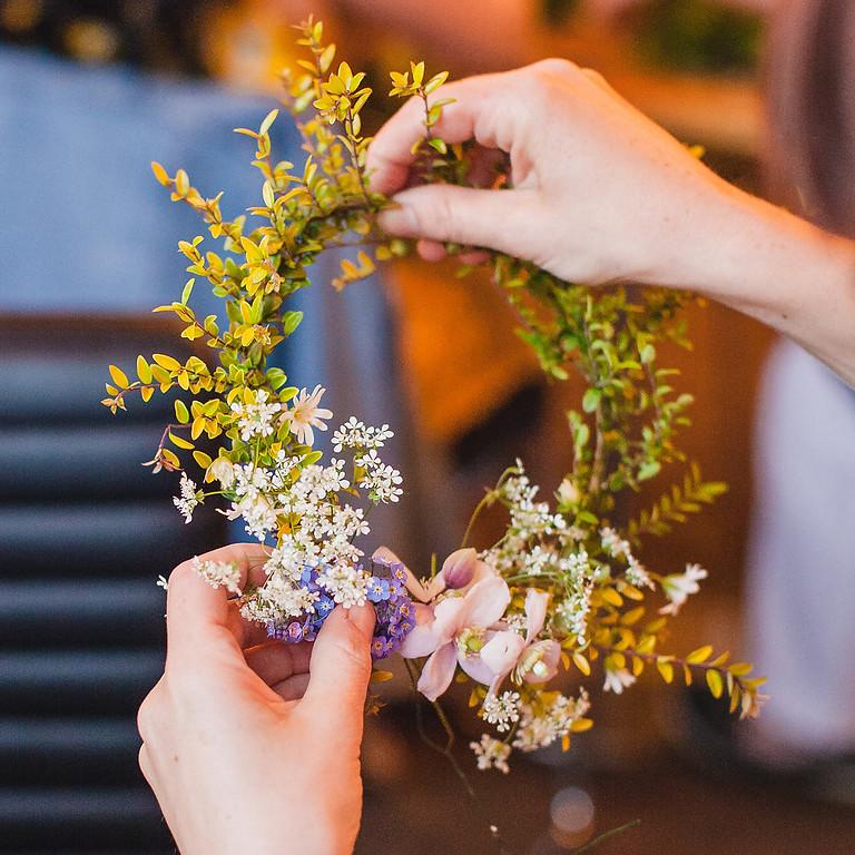 Summer wreath making workshop 2019
