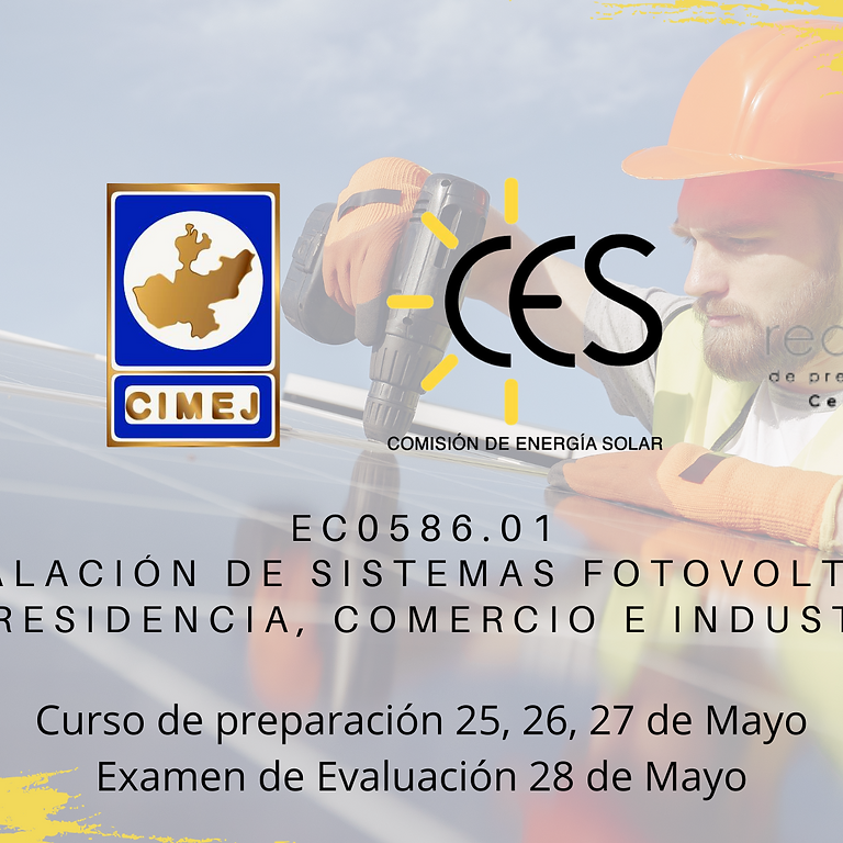 EC0586.01 Instalación de sistemas fotovoltaicos en residencia, comercio e industria