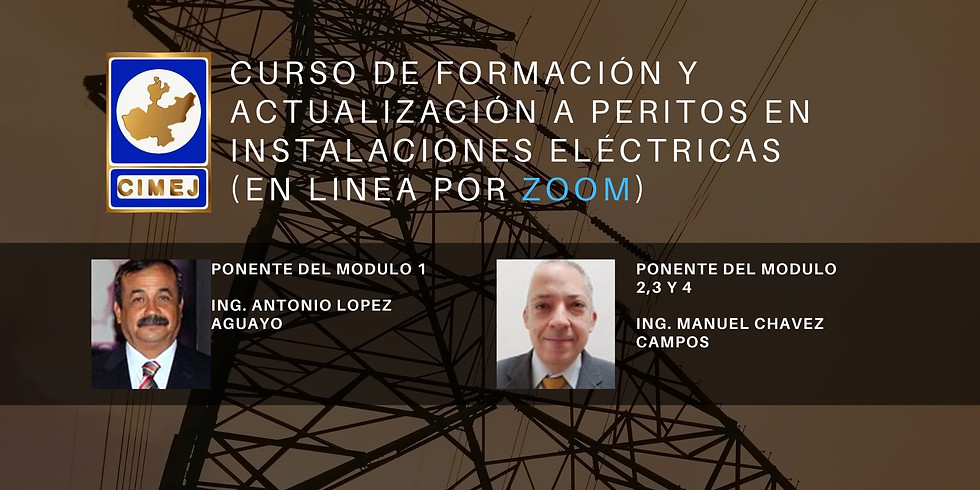 CURSO ONLINE DE FORMACIÓN Y ACTUALIZACIÓN A PERITOS EN INSTALACIONES ELÉCTRICAS.