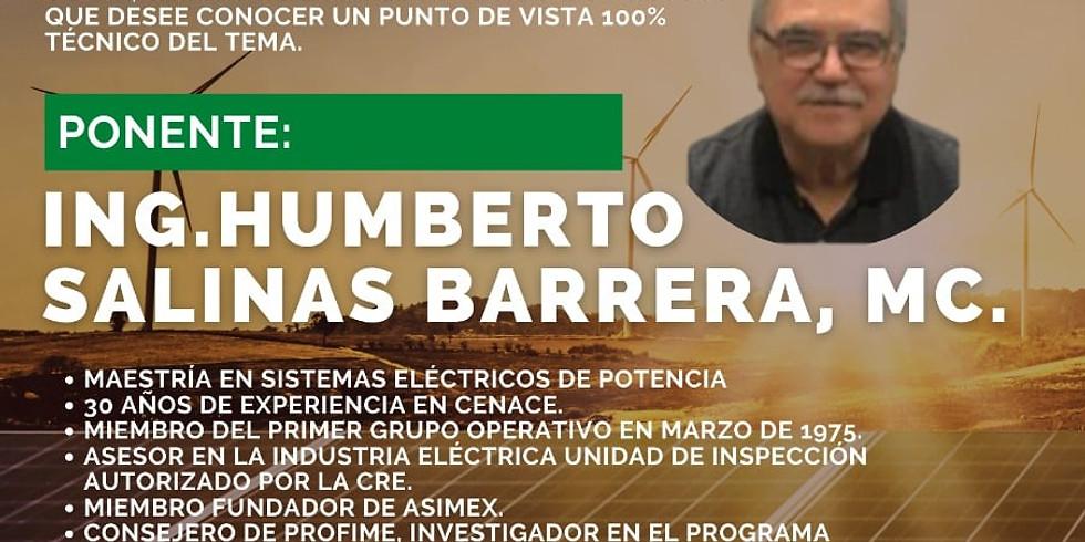 """""""IMPACTO EN LA REGULACIÓN DE FRECUENCIA Y VOLTAJE DE ENERGÍAS VERDES (INTERMITENTES) EN LA OPERACIÓN DEL SISTEMA ÉLECTRI"""