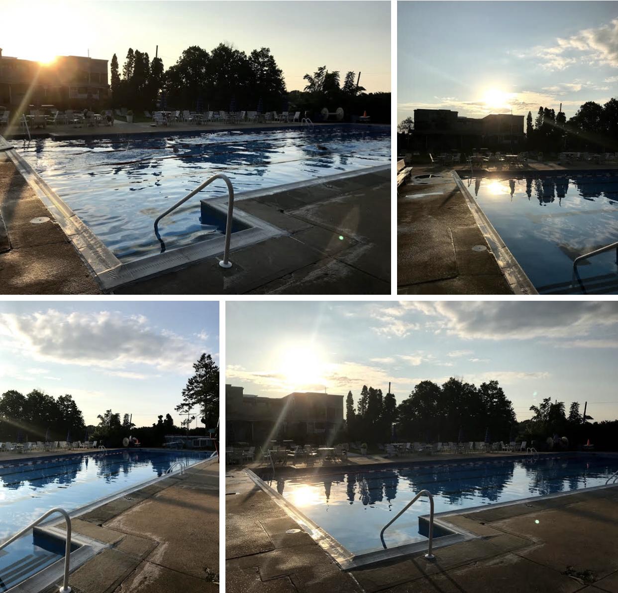 """Sunrise Swimming"""