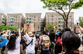 Bronx Protest Grand Concourse