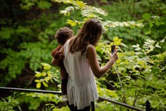 Botanical Garden   Mom and Child