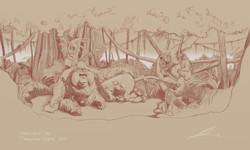 Orangutan Woodfeild Final Sketch