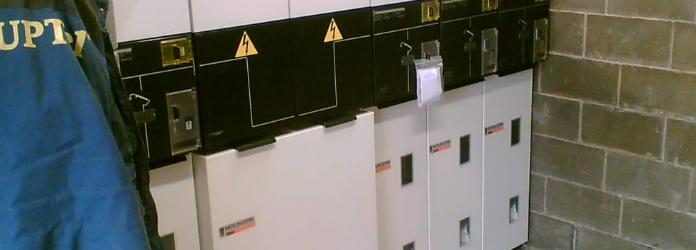 Trafostanice v aréně v Karlových Varech