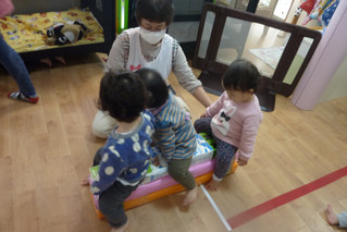 2月27日(木)作業療法士の満永先生の指導
