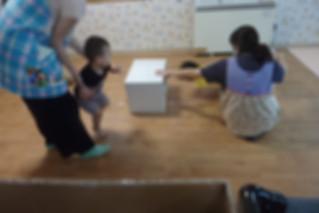作業療法士 満永先生と運動遊びをしました。