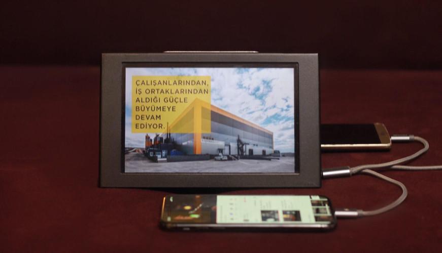 Fuar Şarj Cihazı Minivizyon