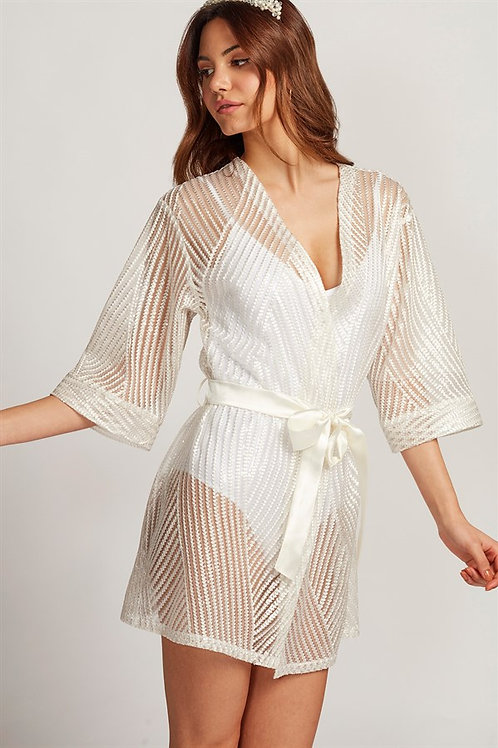 Bride Beyaz Kimono