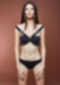 Siyah Kemerli Bikini - Auriga
