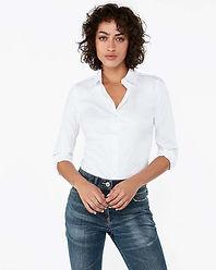 Beyaz Gömlek - Poplin