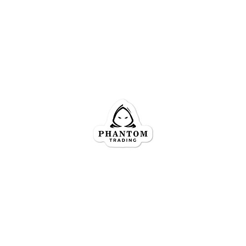 Phantom Black Logo - Office Equipment Sticker