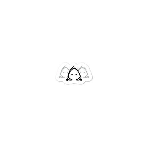 Phantom x3 Black Logo - Office Equipment Sticker