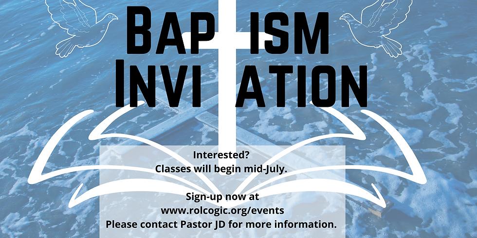 Baptism Classes