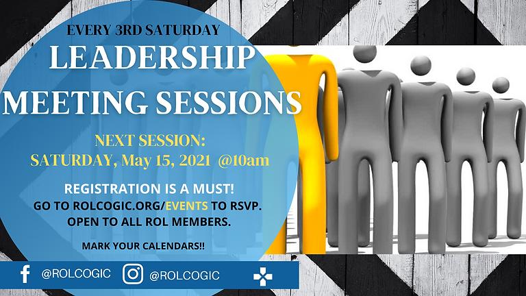 Leadership Meeting Sessions