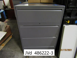Four-Drawer Lateral File